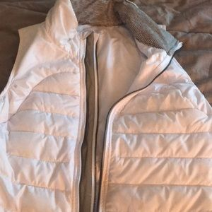 Tangerine winter vest